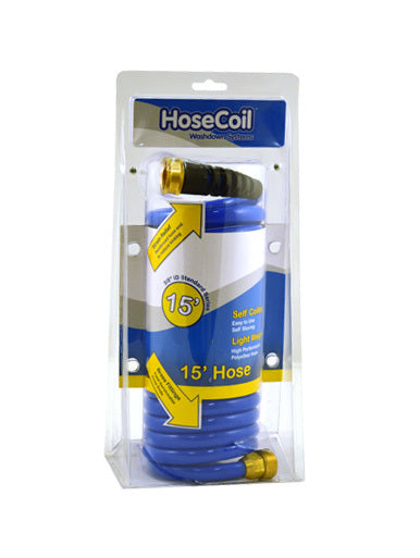 "HoseCoil 15' 3/8"" Hose with Flex Relief"