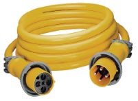Hubbell CS1004 100A 4wire 100' 125/250V Shore Cordset
