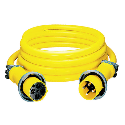 Hubbell CS50EXT5 100A 50' 5 Wire 120/208V Extension Cord