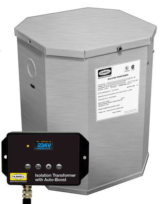 Hubbel HBL50AITSSB 15kVA 60Hz Isolation Transformer W/Boost