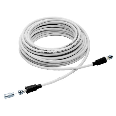 Hubbell TV99 50 Foot White TV Shore Cord