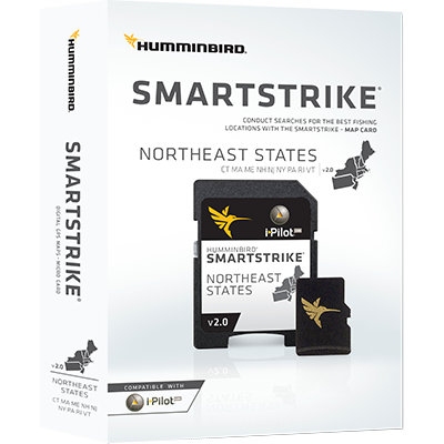 Humminbird SmartStrike Maps, Northeast States
