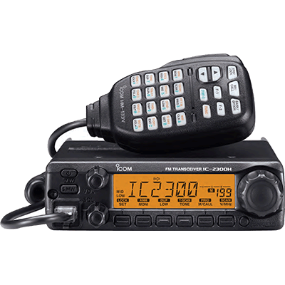 Icom HAM Radio, VHF, Fixed Mount, 65 Watts