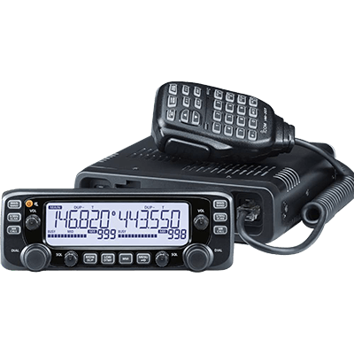 Icom HAM Radio, VHF/UHF, Fixed Mount, 50 Watt