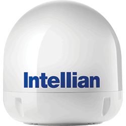 Intellian i6/i6P Empty Dome & Baseplate Assembly