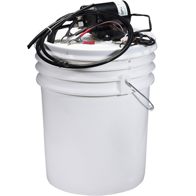 Oil Change Kit with 12V Pump & Pail
