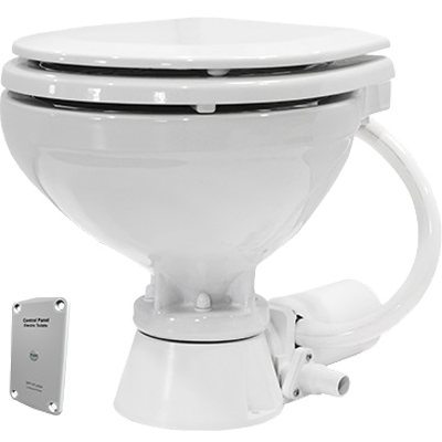 Marine Toilet, Standard, 12V, Compact