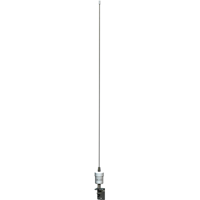 KJM VHF Antenna, 3' Stainless Steel