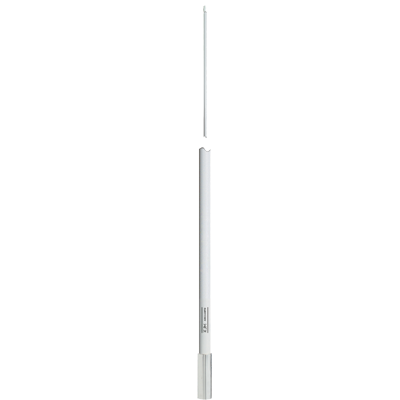 KJM AM/FM Antenna, 8', White