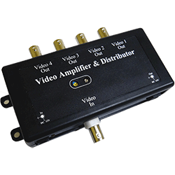 KJM Video Amplifier, 1 in/4out