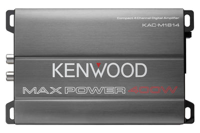 Kenwood KAC-M1814 400W Class D Power Amplifier