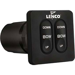 Lenco Switch Kit, Standard Integrated, Single