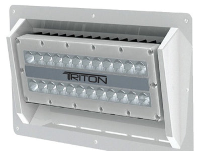 Lumitec Triton 160W White 12v SEMI-RECESS Mount