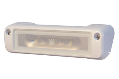 Lumitec Perimeter Flood Light White Housing White/Amber Flas