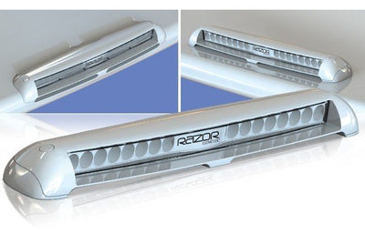 Lumitec Razor White Light Bar Flush Mount, Flood
