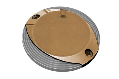 Lumitec Scallop Pathway Light Warm White 10-30vDC Bronze  Housing