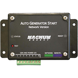 Magnum Energy Automatic Gen Start Module, Network