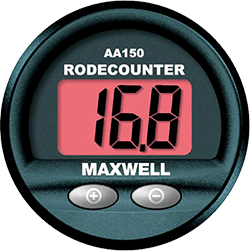 Maxwell Auto Anchor 150 Rope/Chain Counter