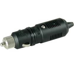 Marinco Cig. Lighter 12V Plug w/LED