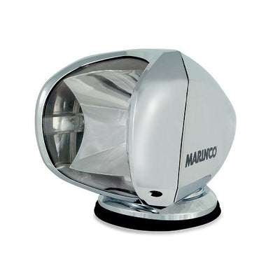 Marinco SPL-12C Spotlight 12/24V 100W Halogen Chrome