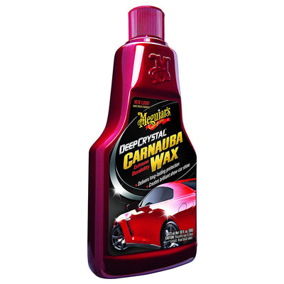 Meguiar's Deep Crystal Carnauba Wax - 16oz *Case of 6*