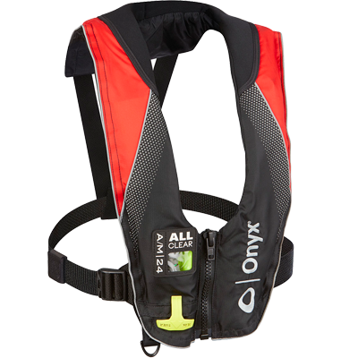 A/M-24 All Clear Inflatable Life Jacket