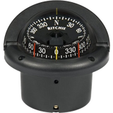 "Ritchie Navigation Compass, Flush Mount, 3.75"" Combi, Black"