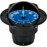 "Compass, Flush Mount, 5"" Dial, Black"