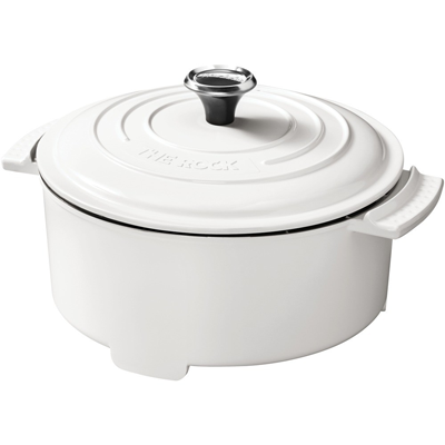 The Rock Electric Casserole, White