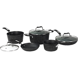 Starfrit The Rock 8 Piece Cookware Set
