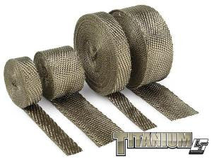 DEI Titanium Exhaust Wrap with LR Technology