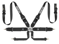 Sparco Competition Harness: 6PT Belt HANS