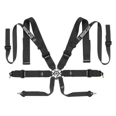 Sparco Competition Harness: 8PT Double Shoulder
