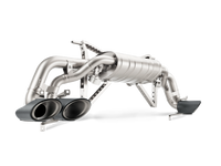 Akrapovic 16' Huracán LP 610-4/Spyder Slip-On Line (Titanium) Exhaust w/ Carbon Tips