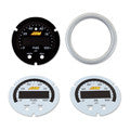 AEM Oil/Fuel Pressure Gauge Silver Bezel & Faceplate Accessory Kit (30-0301-ACC)