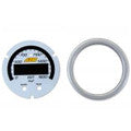 AEM X-Series 0-1800°F / 0-1000°C EGT Gauge Silver Bezel & White Faceplate Accessory Kit (30-0305-ACC)
