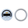 AEM X-Series 35psi / 2.5BAR Boost Gauge Silver Bezel & White Faceplate Accessory Kit (30-0306-ACC)