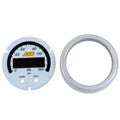 AEM X-Series 0-150psi / 0-10bar Oil Pressure Gauge Silver Bezel & White Faceplate Accessory Kit (30-0307-ACC)