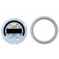 AEM X-Series 60psi / 4BAR Boost Gauge Silver Bezel & White Faceplate Accessory Kit (30-0308-ACC)