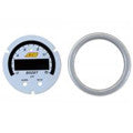 AEM X-Series 0-15psi Boost/Fuel Pressure Gauge Silver Bezel & White Faceplate Accessory Kit (30-0309-ACC)