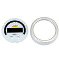 AEM X-Series OBDII Gauge Silver Bezel & White Faceplate Accessory Kit (30-0311-ACC)
