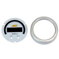 AEM X-Series AEMnet CAN Bus Gauge Silver Bezel & White Faceplate Accessory Kit (30-0312-ACC)