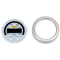 AEM X-Series GPS Speedometer Gauge Silver Bezel & White Faceplate Accessory Kit (30-0313-ACC)