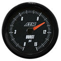 AEM Analog 0~15psi Boost/Fuel SAE Gauge (30-5144)