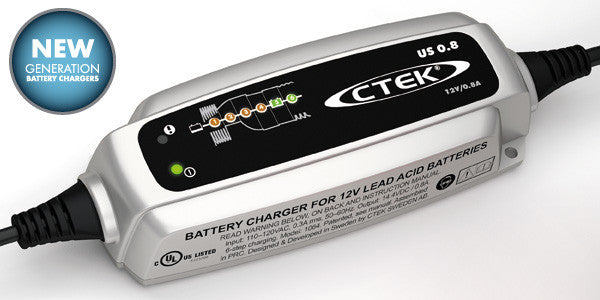 CTek CTEK US 0.8 Battery Charger