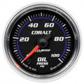 Auto Meter Cobalt Electric 0-100 PSI Oil pressure Gauge 52mm (6153)