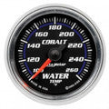 Auto Meter Cobalt Electric 100-260°F Water Temp 52mm Gauge (6155)