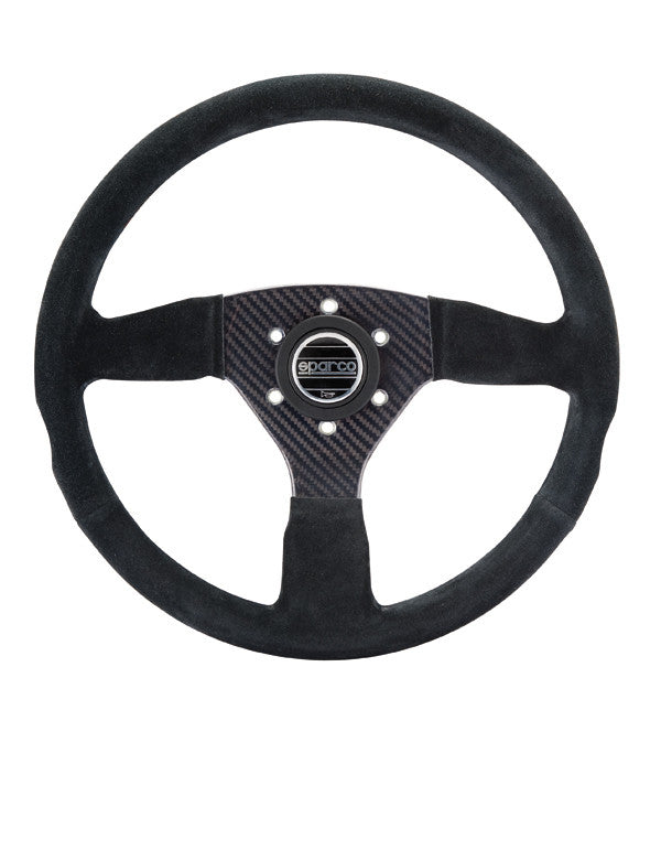 Sparco Competition Steering Wheel: CARBON 385