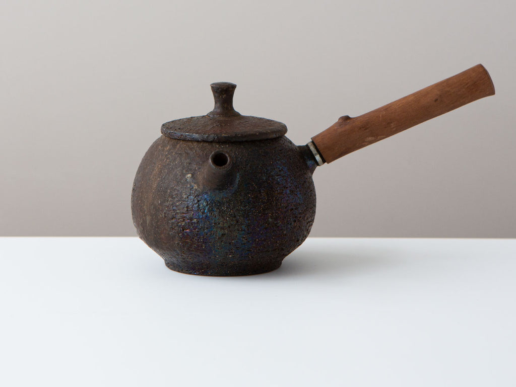 Fire Cypress Kyusu, Front View