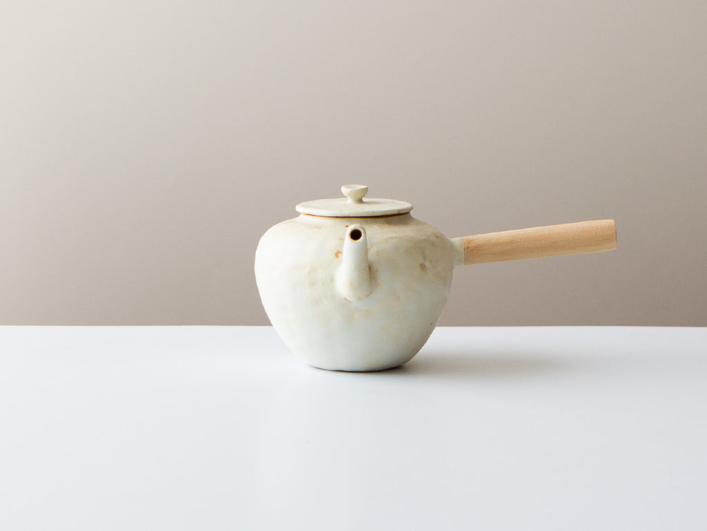 Mini Kyusu, White Fuyu